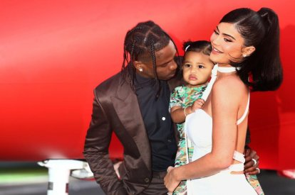 Travis Scott, Kylie Jenner, daughter Stormi