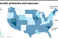 US Democratic primaries and caucuses