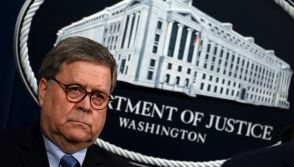 US Attorney General William Barr
