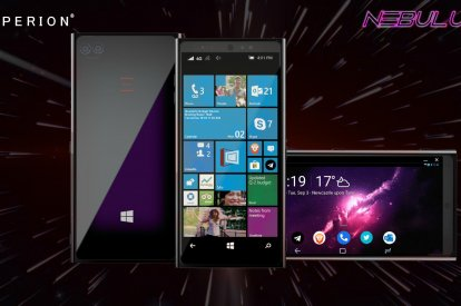 Emperion Nebulus Windows 10 Smartphone runs Android