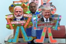 Trump's first official visit to India