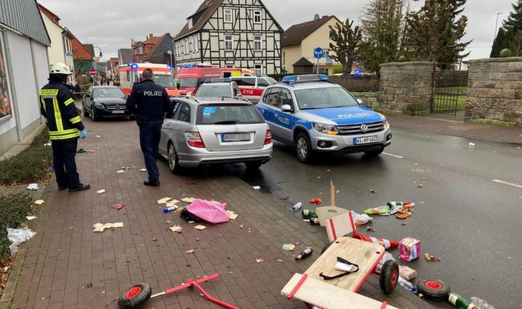 German parade attack
