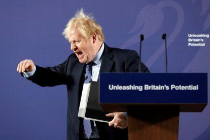 British PM Boris Johnson