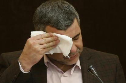 Iranian Deputy Health Minister Iraj Harirchi