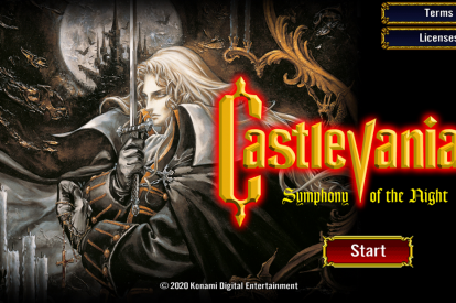 'Castlevania: Symphony of the Night' mobile version
