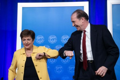 Kristalina Georgieva and David Malpass
