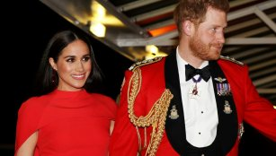 Prince Harry and wife Meghan, Duchess of Sussex
