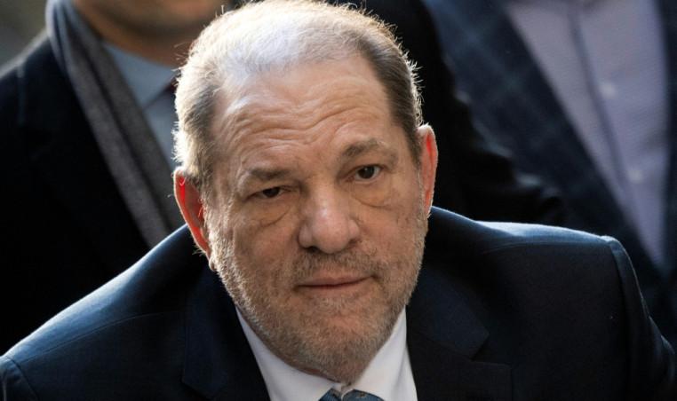 Harvey Weinstein tests positive for virus