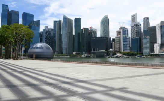 Singapore's economy suffered