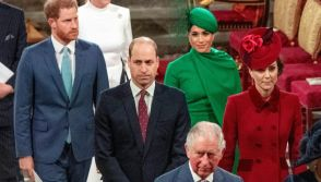 British royal family at Commonwealth Day service