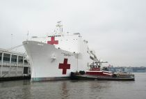 US navy hospital ship