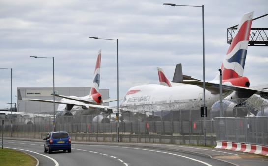 British Airways lays off 28,000 staff temporarily