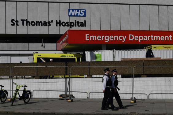 Boris Johnson is in ST Thomas' Hospital