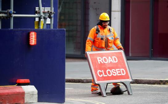 Britain's economy shrank two percent
