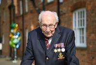 WWII veteran Captain Tom Moore