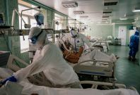 Health workers hit hard by the pandemic