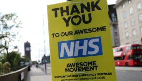 NHS workers struggling with stress