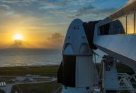 SpaceX's astronauts ready for US launch