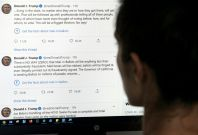 Trump-Twitter class intensifies