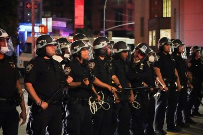 Several US cities have been placed under curfew