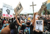George Floyd death protests in New Zealand