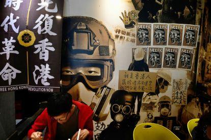 Hong Kong protesters seek sanctuary