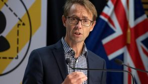 New Zealand health department director-general Ashley Bloomfield