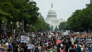 Protesters in Washington DC
