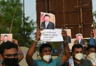 Protests against China in India after border clash