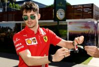Ferrari's Charles Leclerc AFP / William WEST