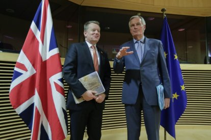 EU, Britain intensify talks on post-Brexit future