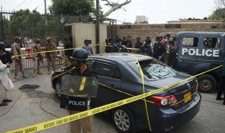 Pakistan Stock Exchange Shooting