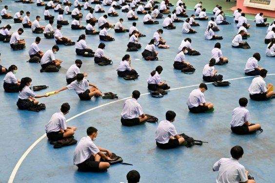 Schools have reopened in Thailand