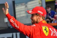 Sebastian Vettel joined Ferrari in 2015