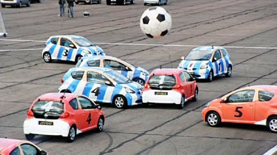 TopGear Car Football