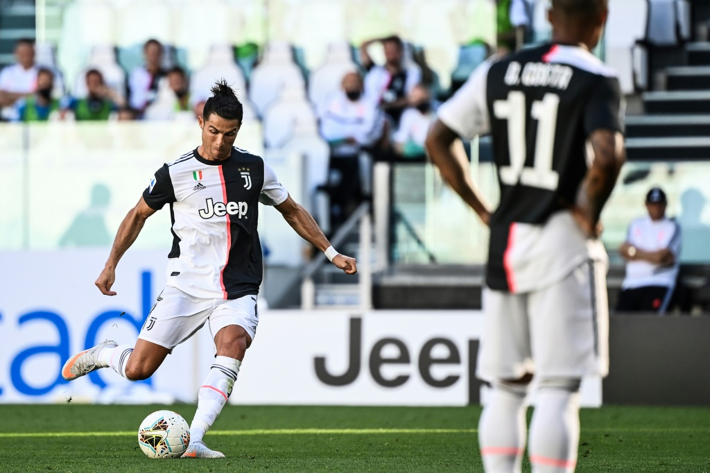Champions League: Cristiano Ronaldo scores twice but fails to take Juventus past Lyon