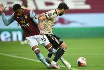 Aston Villa's Ezri Konsa conceded a penalty