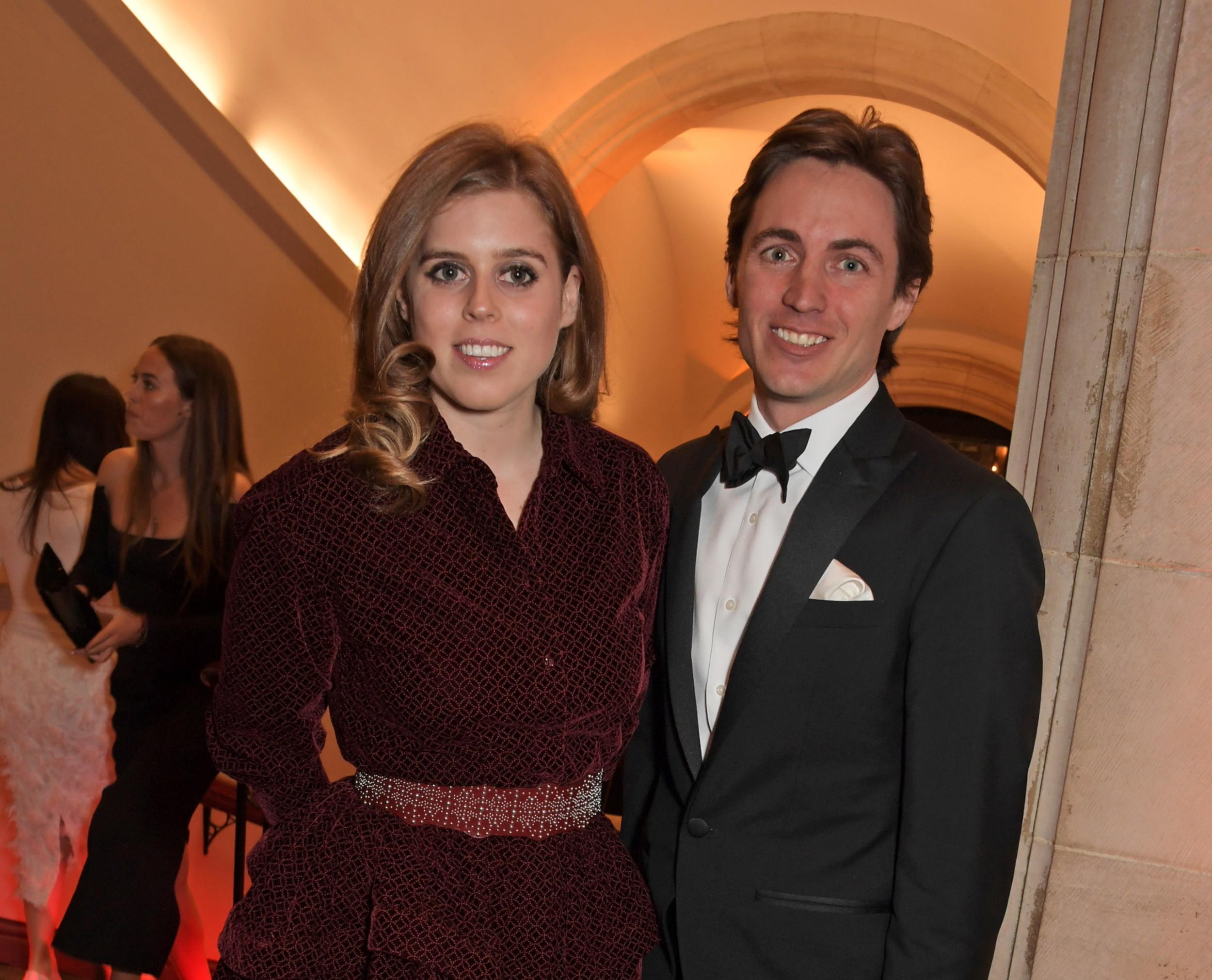 Princess Beatrice stuns in black for date night with husband Edoardo Mapelli Mozzi