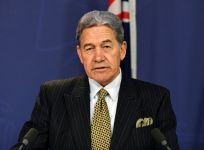 NZ Foreign Minister Winston Peters