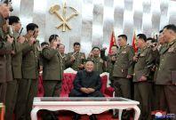 North Korea's Kim says nuclear deterrent crucial