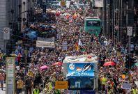 Berlin protests