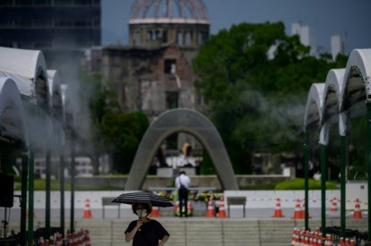 Japan marks 75th anniversary of Hiroshima bombing