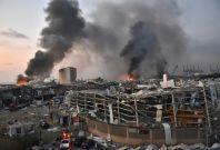 Emergency aid lands in Lebanon