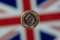 The British pound shot up on Thursday