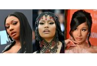 Megan Thee Stallion,Nicki Minaj and Cardi B