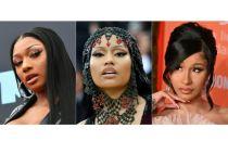 Megan Thee Stallion,Nicki Minaj and Cardi B