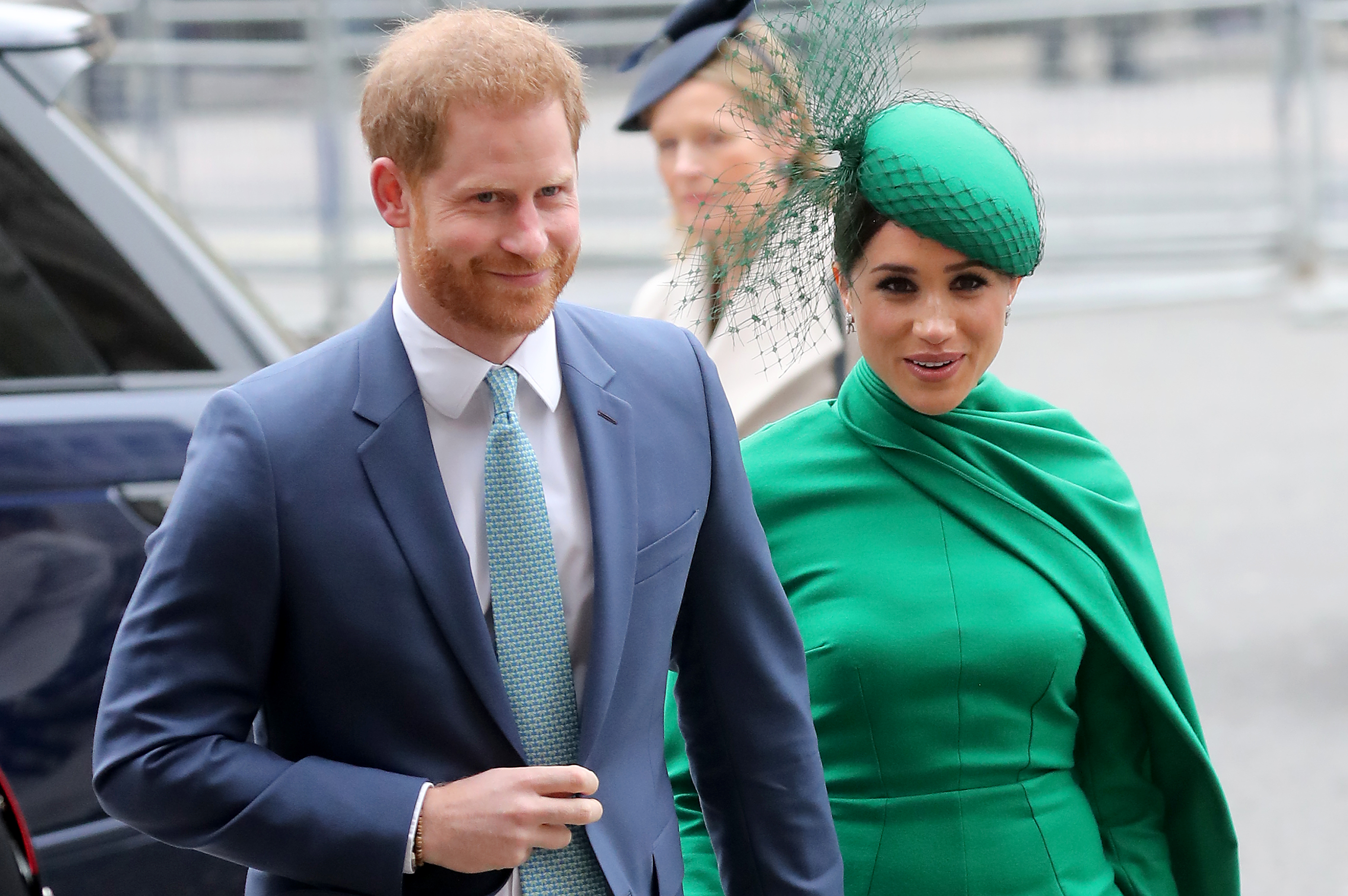Prince Harry discusses stepping back as royal, his relationship with the queen in 'Late Late Show' debut