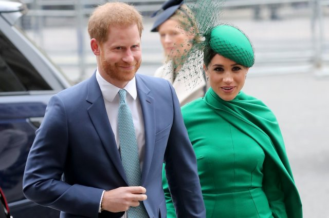 Meghan Markle, Prince Harry make first appearance since second pregnancy announcement