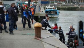 Migrants from the English Channel