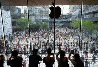 Apple's flagship store in Beijing